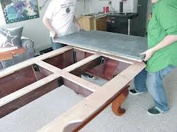 Pool table moves in Fredericksburg Virginia