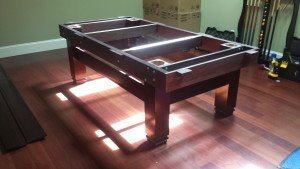 Correctly performing pool table installations, Fredericksburg Virginia